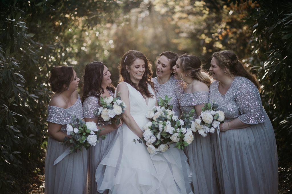 wedding day bouquet in Ireland. Real wedding flowers