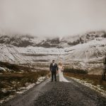 sligo wedding with a wonderful background for a wedding photo
