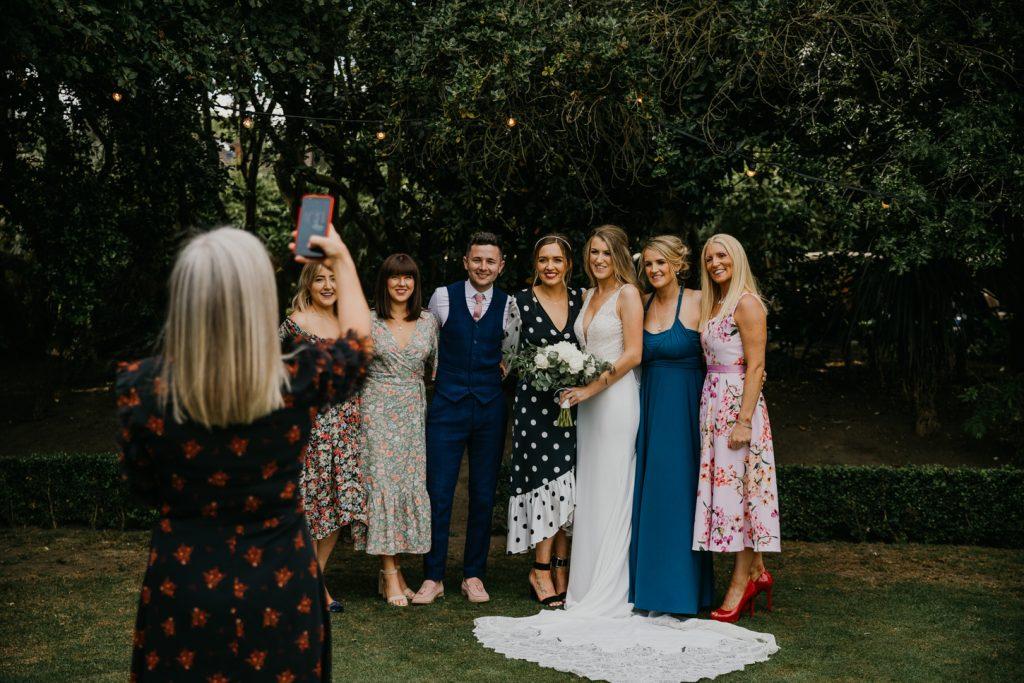 Choosing a wedding day flower Bouquet with Darren Byrne Wedding Photography