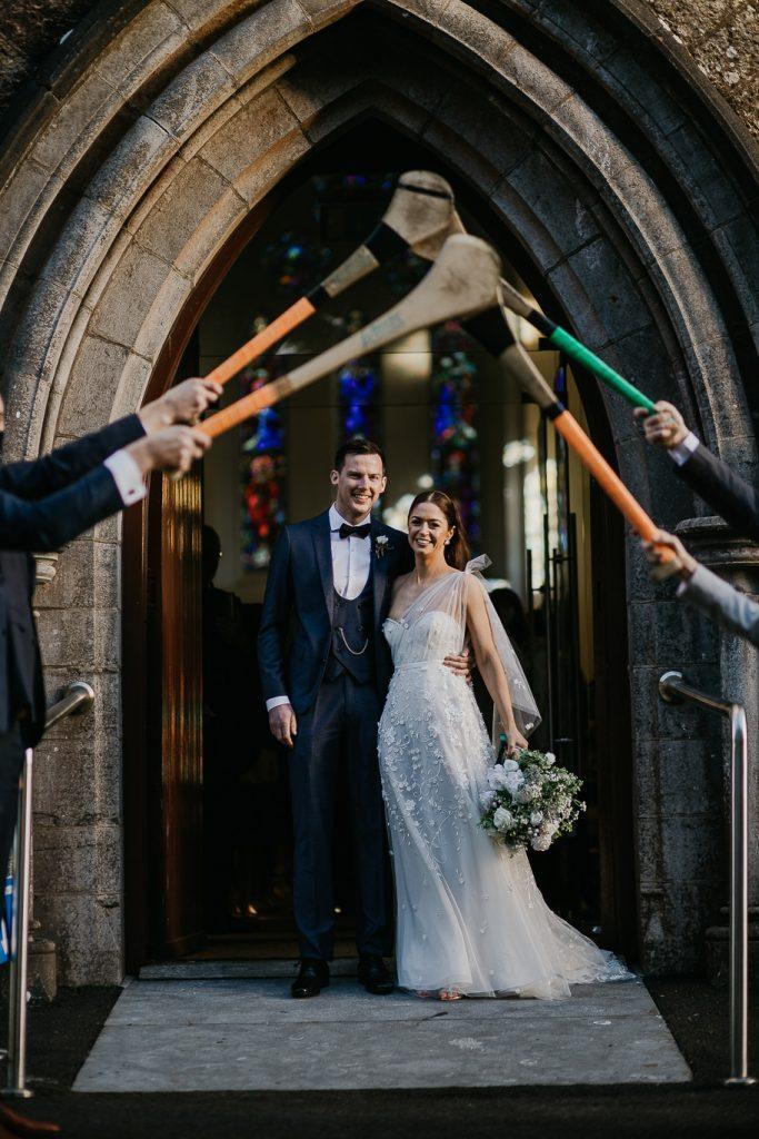 choosing a wedding bouquet for oyur wedding day in Ireland