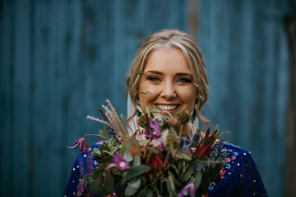 choosing your wedding bouquet for an Irish Wedding