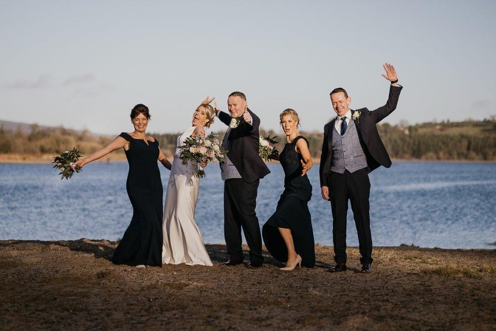natural unposed wedding photos in Ireland